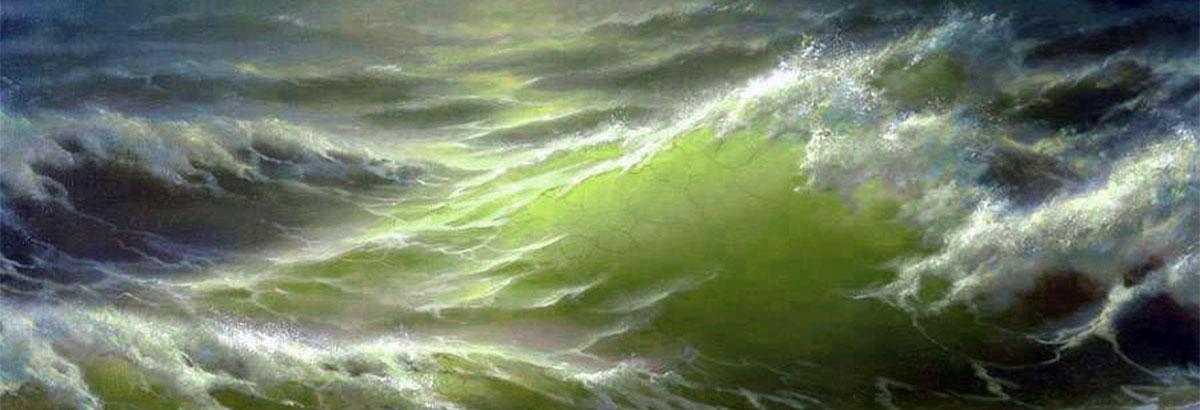 Verde oceano