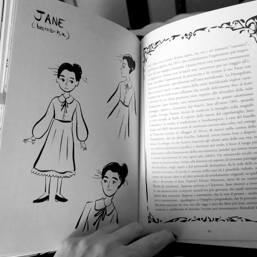 Jane Austen - Graphic novel di Manuela Santoni