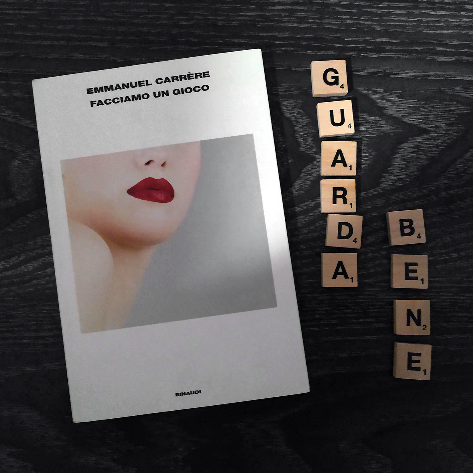 Facciamo un gioco di Emmanuel Carrère