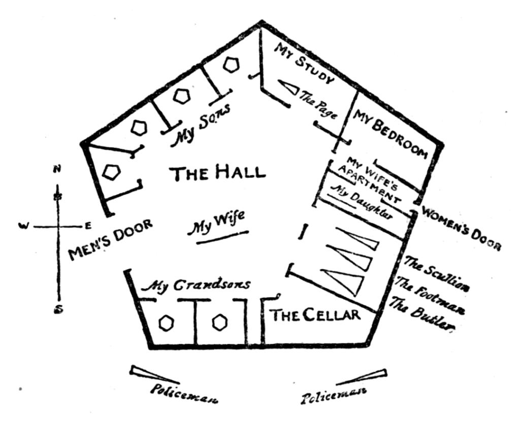 Flatlandia di Edwin Abbott Abbott